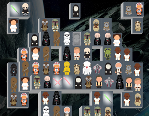 Mahjong gratuit - space starwars